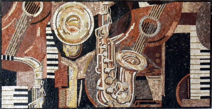 musical-instruments-marble-mosaic-mural-c60