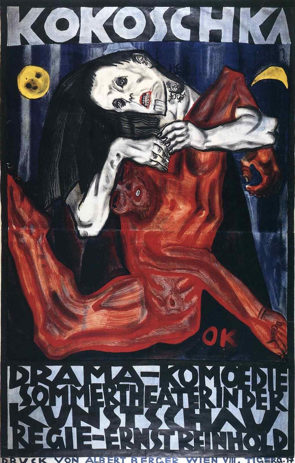 terror-Oskar Kokoschka Pieta